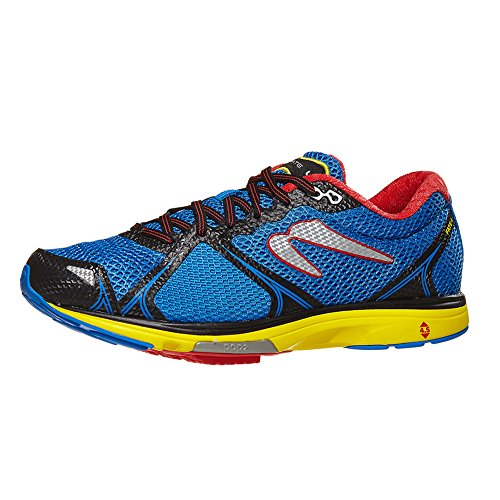 Newton Running Herren Fate 4 Laufschuhe, Blau (Blue/Red 001), 48 EU