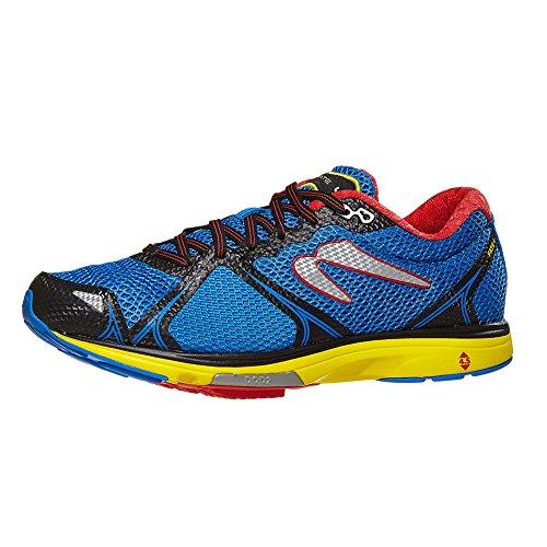 Newton Running Herren Fate 4 Laufschuhe, Blau (Blue/Red...