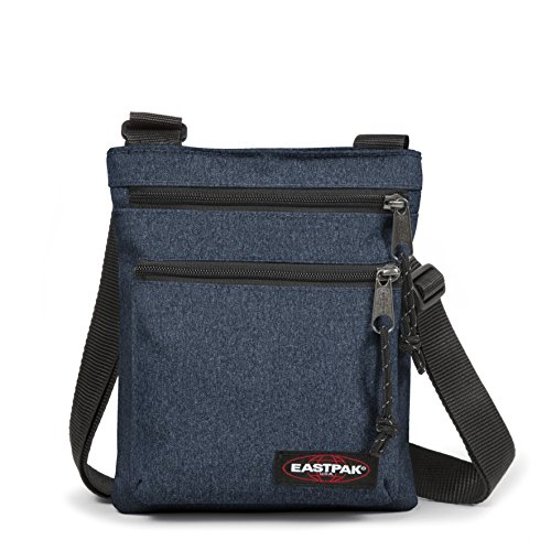 Eastpak Rusher, Borsa A Tracolla Unisex, Blu (Double Denim), 1.5 liters, Taglia Unica (23 x 18 x 2cm)