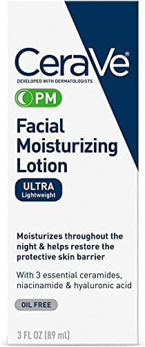 CeraVe Moisturizing Facial Lotion PM, 3 Ounce product image