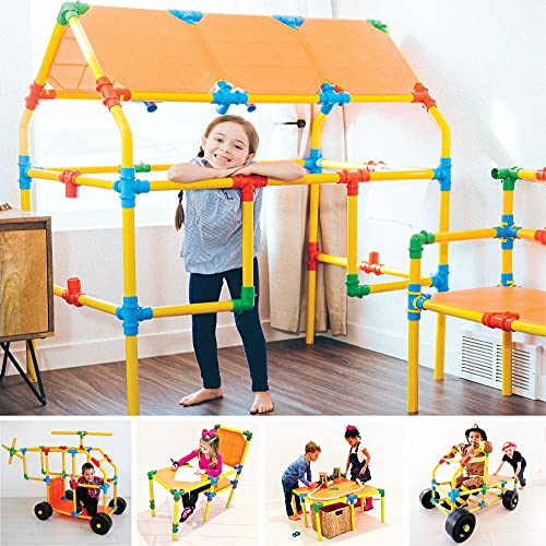 Omagles Builder Set | The Ultimate STEM Construction Toy for Kids | Build Anything You Can Imagine