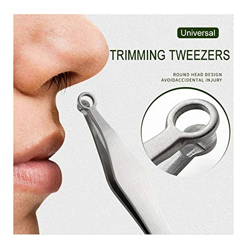 Universal Nose Hair Trimming Tweeze…
