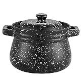DWLXSH Multiconexiones Tamaño de cerámica cazuela Mutli-función del horno holandés puede hacer todo tipo de gachas de avena nutritiva vegetal de cocina nutritiva (Size : 5L)
