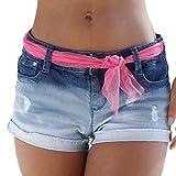Los Pantalones Vaqueros Por Luckycat Sus Siglas En Cortos De Moda Completi Verano Pantalones Lavados...