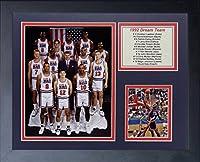 1992 Usa Basketball Dream Team Michael Jordan Larry Bird Magic 8x10 Photo Framed