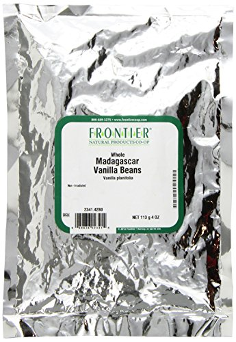 Frontier Madagascar Vanilla Beans 4 Ounce