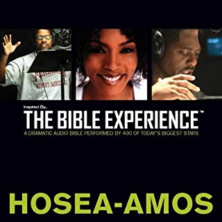 Inspired By … The Bible Experience Audio Bible - Today's New International Version, TNIV: (25) Hosea, Joel, and Amos audiobook cover art
