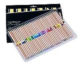Solabela 36 Bi-Color Colored Pencils 72 Vibrant Colors. Cedar Wood Barrels
