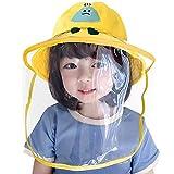キッズ ハット 漁師帽 EMOILY 子供用 日よけ帽子 紫外線対策 日焼け防止 防風