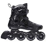 SXDQSZ PatinesPatines de Velocidad en línea Zapatos Patines de Hockey Patines de Ruedas Zapatillas de Deporte Rollers Mujeres Hombres Patines de Ruedas para Adultos Patines In