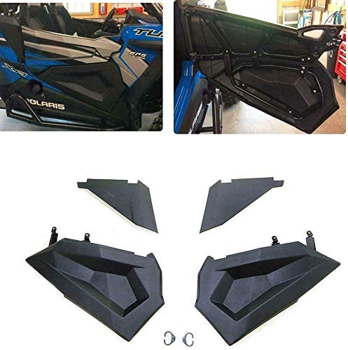 Lower Half Door Inserts Panels with OEM Style Frame Replacement for 2014-2021 Polaris RZR S 900 XP...