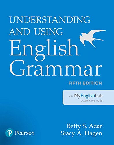 commercial Understanding and using English grammar in MyEnglishLab (5th edition) pearson esl books