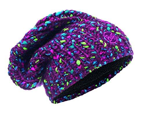 Buff Knitted und Polar Yssik Neckwarmer, Amaranth Purple, One Size