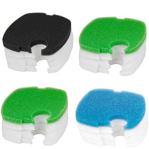 AQUANEAT Replacement Canister Filter Pads Compatible to SUNSUN HW-304B/404B/704B/3000 CF500 Generic Filter Floss Aquarium Filter Media