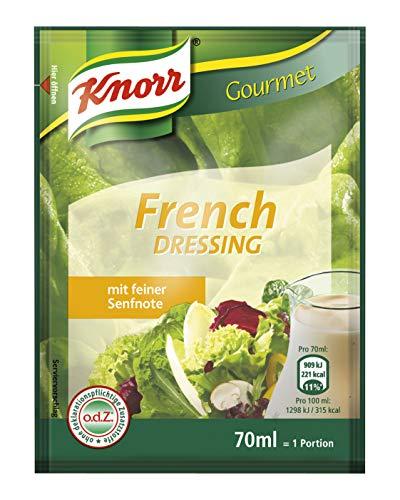 Knorr French Dressing Portionsbeutel (französische Salatsauce)  20er Pack (20 x 70ml)