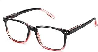 Cyxus Blue Light Blocking Computer Glasses for Anti Eye Strain UV Transparent Lenses with Variable Colors Reading Glasses ...