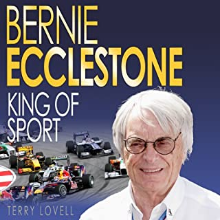 Bernie Ecclestone audiobook cover art