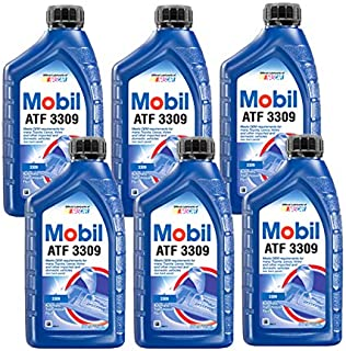Mobil 1 ATF3309 Synthetic Automatic Transmission Fluid, 6 Quarts