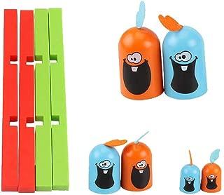 カートゥーン ゴブレット ゴッブラー チェスボード ゲーム スキル ビルディング 教育玩具 インドア ゴブレット ゴブレット ボードゲーム おもちゃ 子供用 木製リング 教育玩具