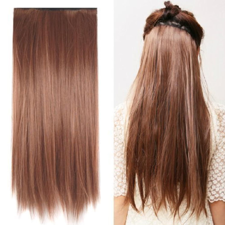 告発別の高いSODIAL(R) Clip in on hair Straight Tail extensions New human heat resistant fibe - Blonde