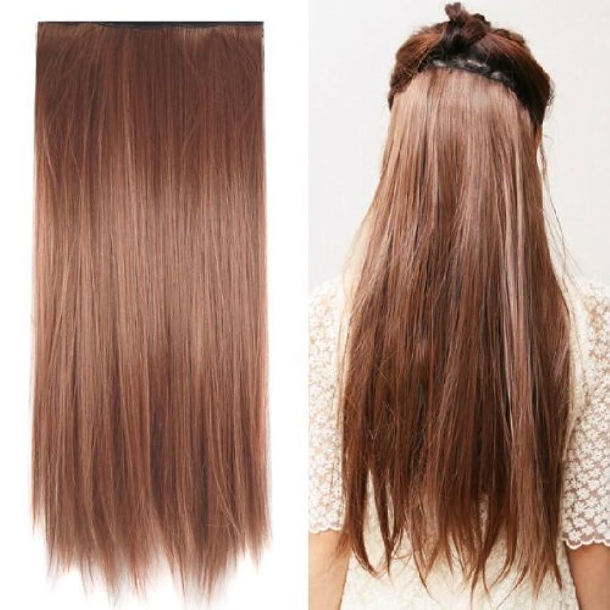 特許噴火ジェムSODIAL(R) Clip in on hair Straight Tail extensions New human heat resistant fibe - Blonde