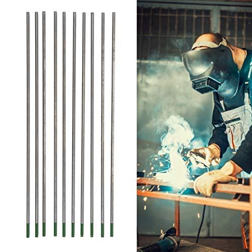 Agujas de soldadura TIG de arco de argón Agujas de soldadura WP Electrodo de tungsteno puro 2mmx150mm para hoja de soldadura Accesorios de soldadura de acero inoxidable