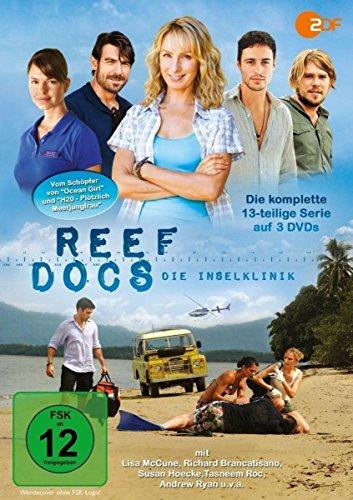 Reef Docs - Die Inselklinik (Reef Doctors) / Die komplette 13-teilige Abenteuerserie vom Schöpfer von OCEAN GIRL und H20 - PLÖTZLICH MEERJUNGFRAU [3 DVDs]