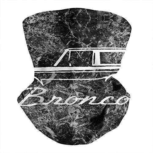 COOLGOOD 1992-96-Fo-rd-Bronco-Classic-Outline-Design- with Breathing Neck Face Scarf Sanding Magic Bandanas Tube