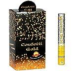 Guirca- Cañón confetti oro aire comprimido, Talla única (6926.0)