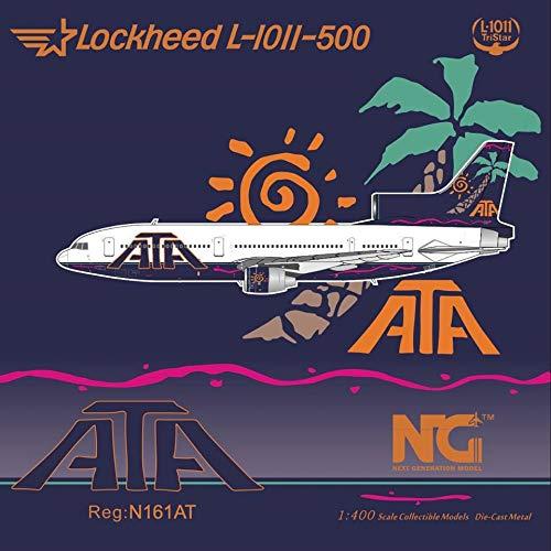 NG Model NGM35011 1:400 American Trans Air Lockheed L-1011-500 Reg #N161AT (pre-Painted/pre-Built)