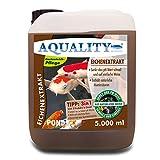 aquality Gartenteich Eichenextrakt 3in1 (Senkt schnell den pH-Wert - Enthält natürliche Huminsäuren - Unterstützt die Algenbekämpfung), Inhalt:5 Liter