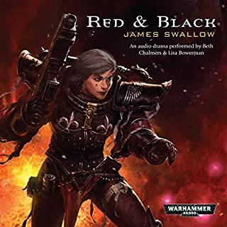 Red & Black audiobook cover art