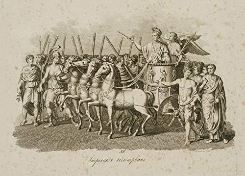 H. W. Fichter Kunsthandel: C. KOTTERBA (1800), Triumphierender Imperator, Rom, Antike, Sieg, KST.