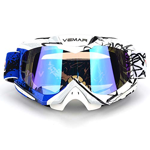 Polarized Sport Motorcycle Motocross Goggles ATV Racing Goggles Dirt...