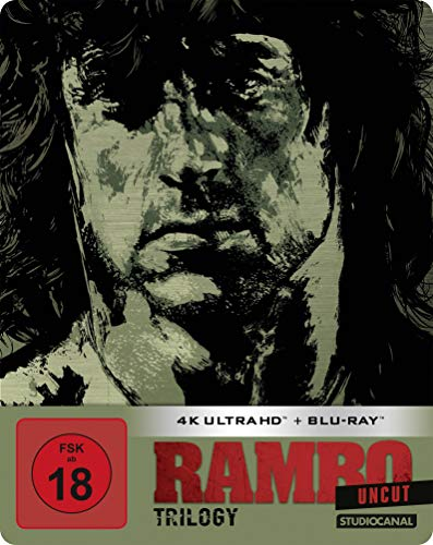 Rambo Trilogy / Uncut / Limited SteelBook Edition (4K Ultra HD) [Blu-ray]