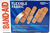 BAND-AID Flexible Fabric Adhesive Bandages Assorted 100 ea (Pack of 12)