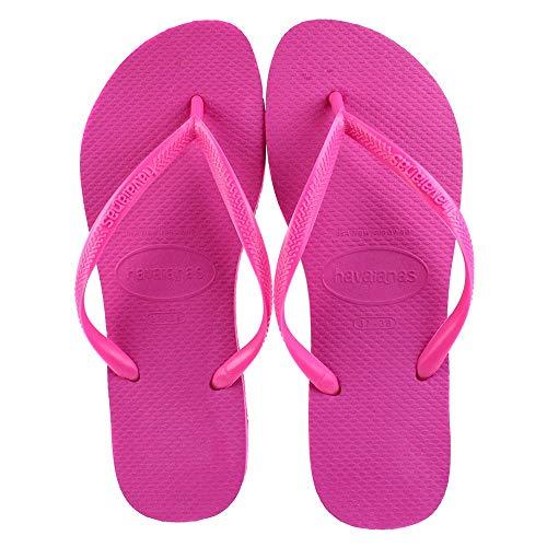 Havaianas Women's Flip Flop Sandals, Pink(hollywood Rose), 5 UK (39/40 EU 37/38 BR)