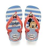 Havaianas Baby Disney Classics Ii Sandalias Unisex Niños, Multicolor (White/Strawberry), 25-26  EU