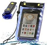 Navitech MiTAB Blaues Wasserfestes Case, Wasserfestes Cover für Acer Iconia Talk S