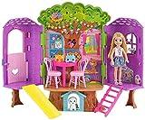 Barbie-la Casa sull'Albero di Chelsea-con Bambola Inclusa-Due Piani e Accessori,...