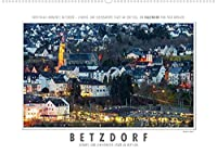 Emotionale Momente: Betzdorf - liebens- und lebenswerte Stadt an der Sieg. (Wandkalender 2022 DIN A2 quer): Die Stadt Betzdorf liegt im Westerwald am Rande des Siegerlandes. Die Stadt ist umgeben von sanften gruenen Huegeln. Verkehrstechnisch liegt sie zwischen Koeln und Frankfurt und Koblenz und Siegen. (Monatskalender, 14 Seiten )