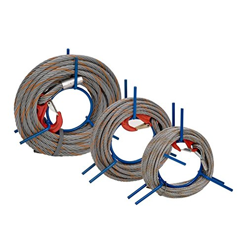 Wadra Drahtseil für Mehrzweckzug, auf Haspel, 20 m, 11,5 mm