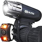 BLITZU Bike Lights Front and Back, Bicycle Accessories for Night Riding, Cycling....