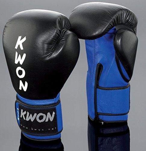 KWON Boxhandschuh KO Champ 12oz schwarz/gelb