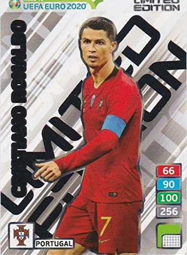 Road To Uefa Euro Panini 2020 Limited Edition Cristiano Ronaldo