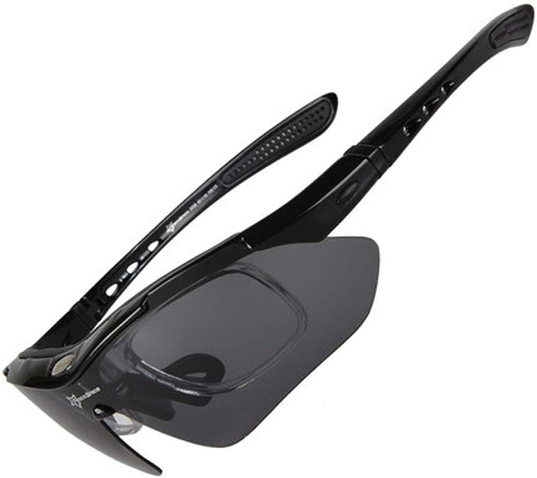 Brille reiten Polarisation Radfahren Radfahren Radfahren Brille Männer und Frauen Mit Outdoor Sports Bike Radfahren Outdoor Sports Brille Sonnenbrille Schutzbrille (Farbe   Schwarz, Größe   Free Größe) B07PF8QTJV  Bekannt für seine gute Qualität a14157
