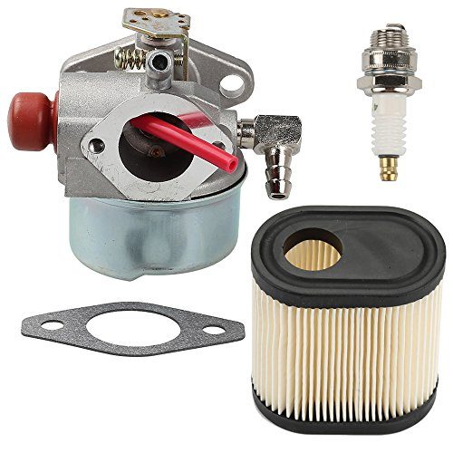 Milttor 640350 Carburetor with Air Filter Spark...