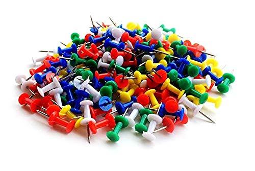 Doyime Puntina/Pressa colla per colla Chiodo in sughero Puntina da disegno colorata puntina da disegno