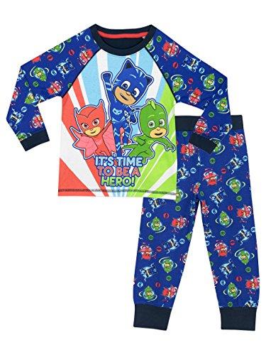 PJ Masks Jungen Schlafanzug 104