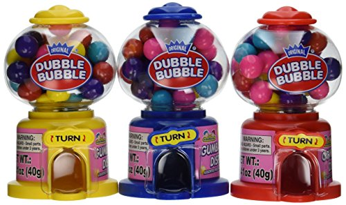 Bubble gum machine are perfect stocking stuffers for teenage boys.